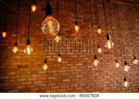 Light Bulb Filament Retro Vintage