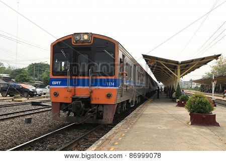 Thai Railways Regional Train