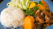 picture of stew  - Cuban Cuisine - JPG
