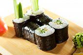 image of cucumber  - Kappamaki  - JPG