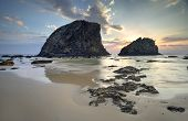 Постер, плакат: Glasshouse Rocks Narooma