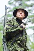 picture of hunter  - hunting - JPG