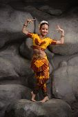 image of national costume  - beautiful little dancer - JPG