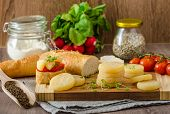 stock photo of smelly  - Czech smelly cheese  - JPG