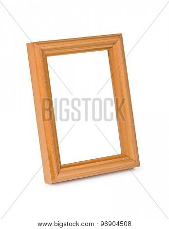 Blank frame isolated on white background