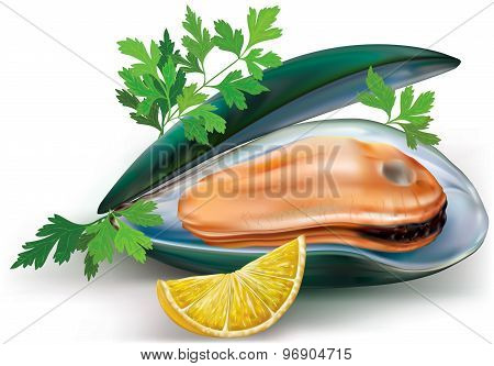 Mussel With Lemon