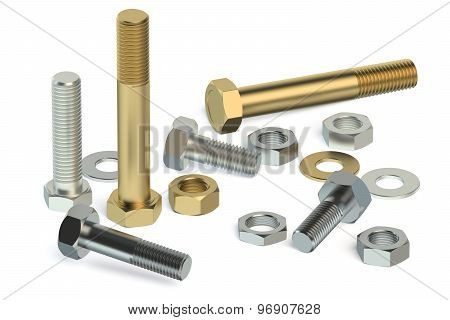 Bolts, Nuts And Washers