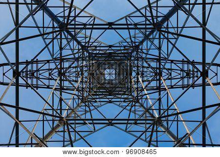 Pylons from below