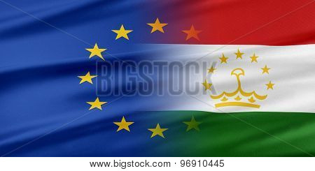 European Union and Tajikistan.