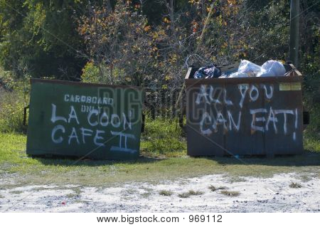 Coon Cafe Dumpsters