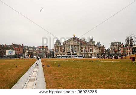 Concertgebouw Building - Amsterdam, Netherlands