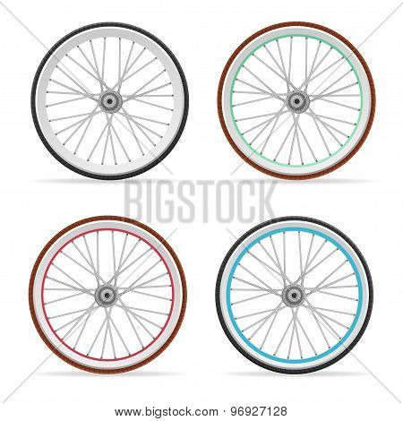 Vector Bicycle wheel set