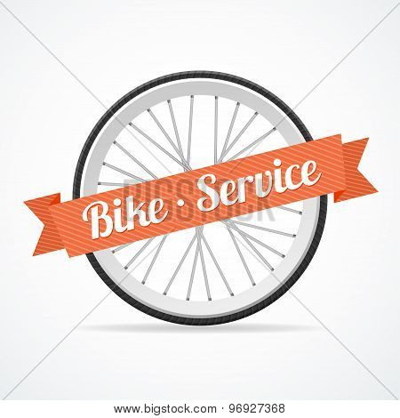 Vector bike service card