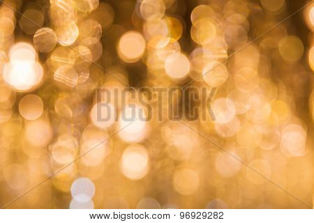 Abstract Circular Bokeh For Background