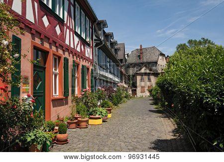 historic old town Frankfurt-Hoechst