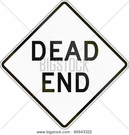 Dead End In Australia