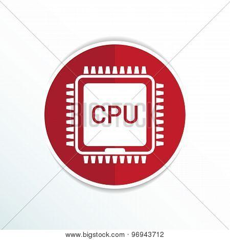 Circuit board  icon Technology scheme square symbol design