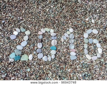 2016 Word From Stones On Pebble Beach