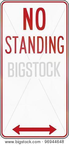 No Standing In Australia