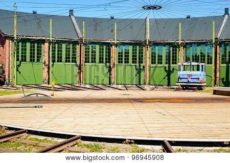 Train Service Depot