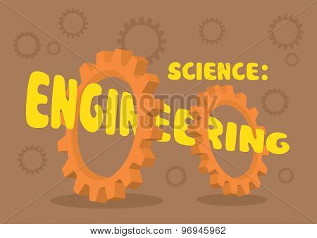 Vector Illustration For Engineering Science