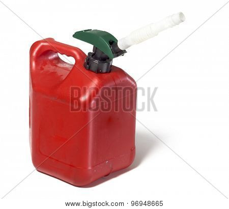 Gas petrol canister container