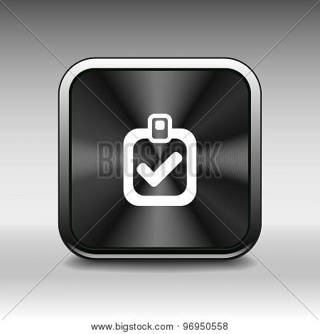 checkmark icon test form mark tick check