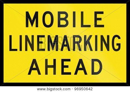 Mobile Linemarking Ahead In Australia