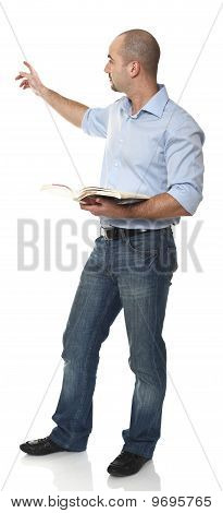 Man Showing Gesture