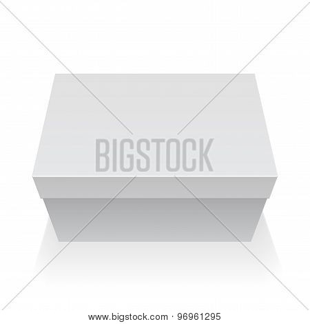 Package Box. For Electronic Device. Vector