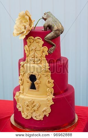 The Red Cake