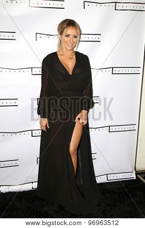 LOS ANGELES - JUL 23:  Aubrey O'Day at the Michael Costello And Style PR Capsule Collection Launch Party  at the Private Location on July 23, 2015 in Los Angeles, CA