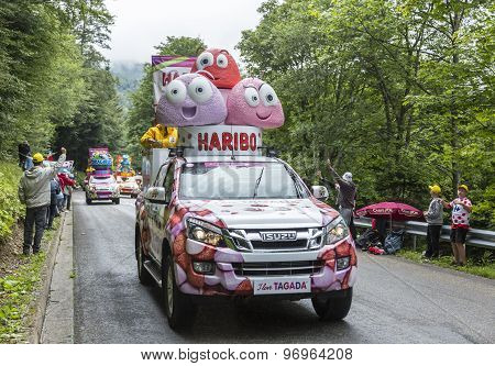 Haribo Vehicles - Tour De France 2014