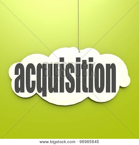 White Cloud With Acquisition
