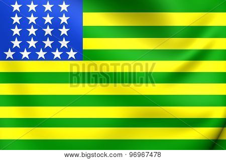 First Republican Brazilian Flag, United States Of Brazil (november 15-19, 1889)