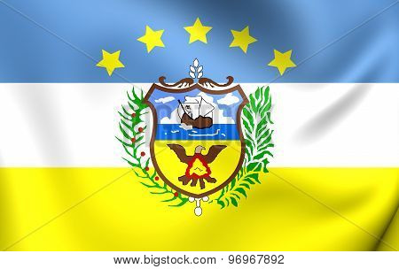 Flag Of Colon Province, Panama.