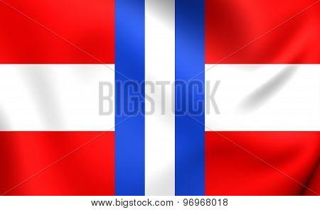 Duchy Of Modena And Reggio Flag