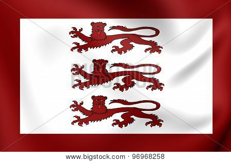 Alternative Flag Of Llywelyn Ap Gruffydd
