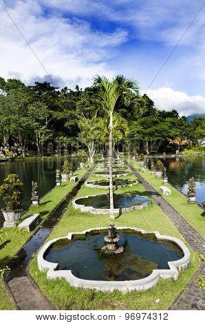 Water Palace of Tirta Gangga in East Bali Indonesia
