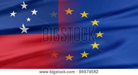 European Union and Samoa.