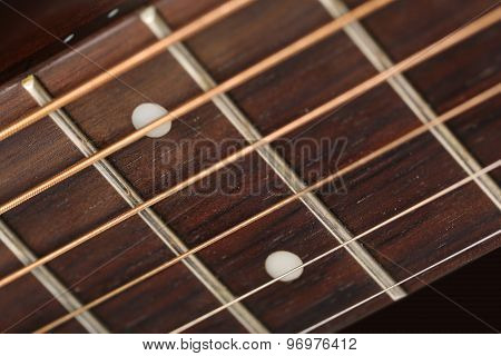 Empty Wooden Rosewood Fingerboard
