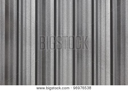 The Corrugated Metal Wall Background.