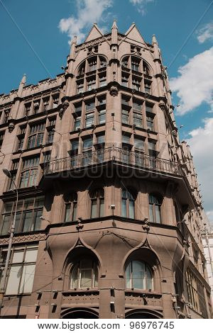TSUM - Central Department Store. A popular touristic landmark in Moscow