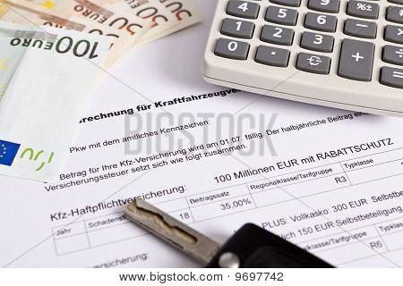 Insurance / Versicherung KFZ