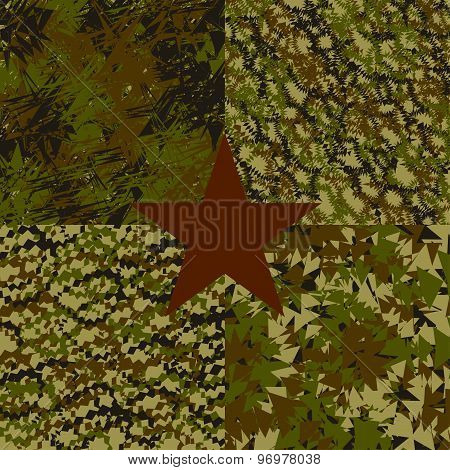 set military abstract background for armed forces. vector illustration eps10