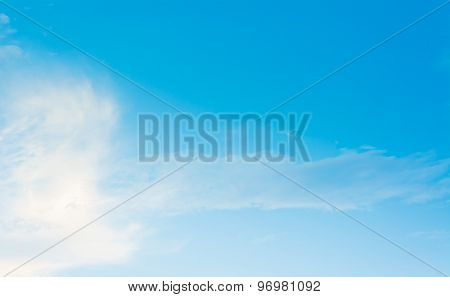 Image Of Clear Sky On Day Time .