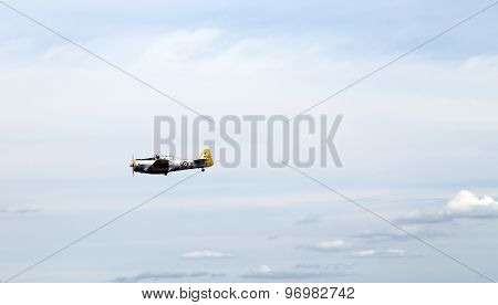 Thiene, Vicenza - Italy. 26Th July, 2015: Aerobatics Aircraft During The Air Show