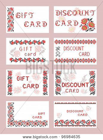 Gift and discount cards