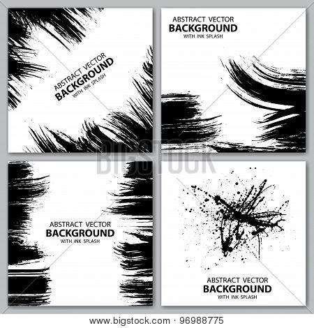 Grunge lines backgrounds