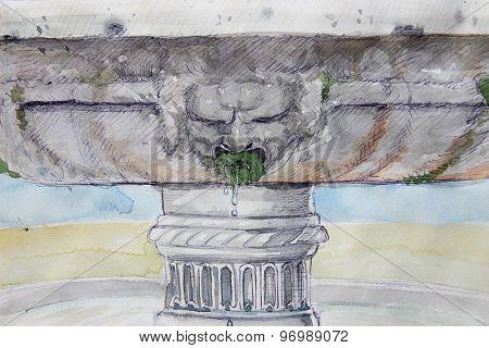 Fountain Mask